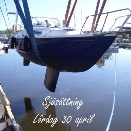 Sjösättning 30 april