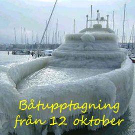 Båtupptagning från den 12 oktober